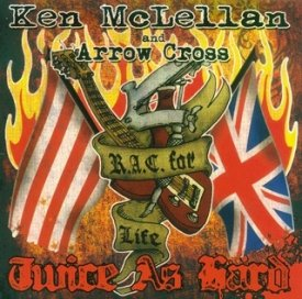 Ken McLellan and Arrow Cross - Twice as hard, CD